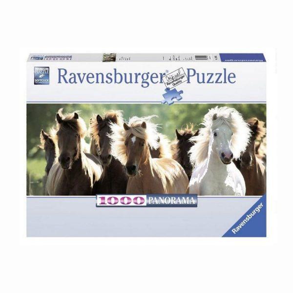 Puzzle dziekie konie 1000 elementów