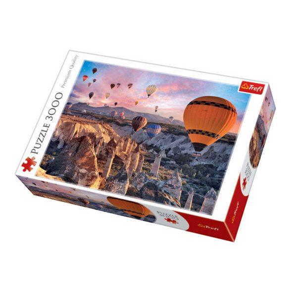 Puzzle 3000 Trefl Balony nad Kapadocją