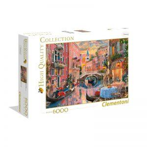 Puzzle - Zachód słońca w Wenecji