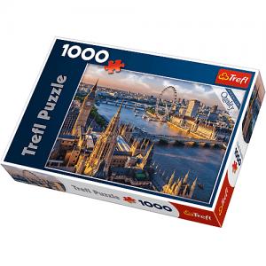 puzzle ze zdjęciem z panoramą Londynu