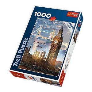 puzzle ze zdjęciem z Londynu, Big Ben