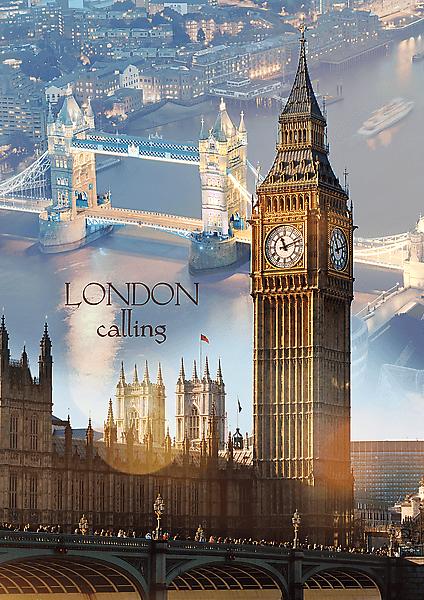 świt w Londynie, Big Ben