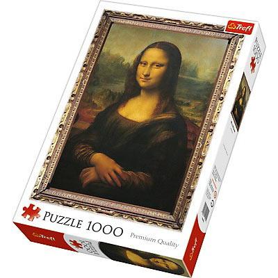 Puzzle z Mona Lisą, 1000 elementów