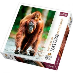 puzzle z orangutanem