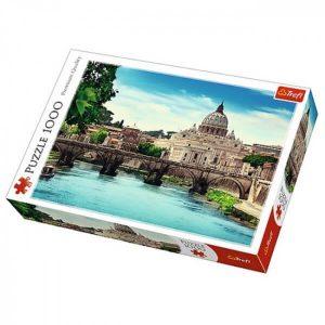 puzzle ze zdjęciem mostu świętego anioła